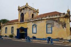 Edificio en África Fotografía de archivo libre de regalías