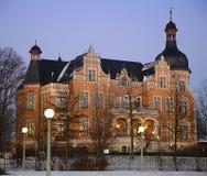 Edificio en Alemania, Bitterfeld Fotografía de archivo