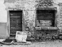 Edificio en bala fotos de archivo libres de regalías