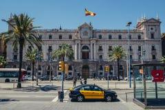 Edificio en Barcelona Imagen de archivo libre de regalías