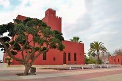 Edificio en benalmadena fotos de archivo libres de regalías