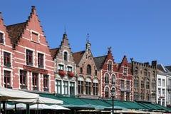 Edificio en Brujas, Bélgica Fotos de archivo libres de regalías