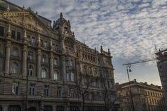 Edificio en Budapest Fotos de archivo libres de regalías