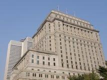 Edificio en Canadá Imagen de archivo libre de regalías