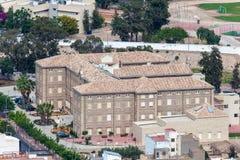Edificio en Cartagena, España Fotos de archivo