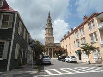 Edificio en Charleston Imagenes de archivo