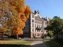 Edificio en el campus de Princeton Fotos de archivo libres de regalías