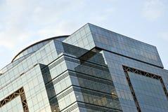 Edificio en el cielo Fotos de archivo