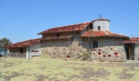 Edificio en el santo Anastasia Island imagen de archivo
