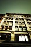 Edificio en el Sun Foto de archivo libre de regalías