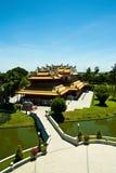 Edificio en estilo chino Fotografía de archivo libre de regalías