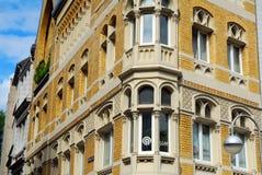 Edificio en Europa Foto de archivo libre de regalías