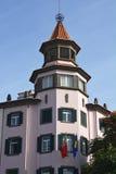 Edificio en Funchal central, Madeira, Portugal Fotos de archivo