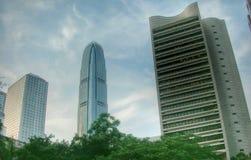 Edificio en Hong Kong en el año 2006 Fotos de archivo libres de regalías