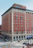 Edificio en Indianapolis céntrica Imágenes de archivo libres de regalías