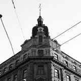 Edificio en la ciudad fotografía de archivo