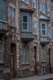 Edificio en la ciudad de Quebec, Canadá Imagenes de archivo