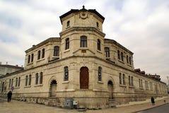 Edificio en la esquina Fotos de archivo libres de regalías