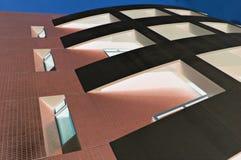 Edificio en la noche Foto de archivo libre de regalías