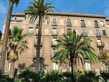Edificio en las calles de Barcelona Fotografía de archivo