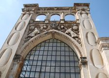 Edificio en Lecce Fotografía de archivo libre de regalías