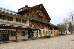 Edificio en Linderhof Imagen de archivo