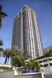 Edificio en Miami Beach Foto de archivo libre de regalías