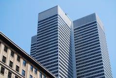 Edificio en Montreal Imagen de archivo libre de regalías