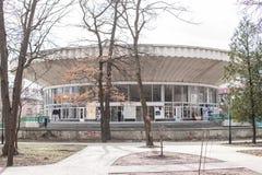 Edificio en Morshyn Fotografía de archivo