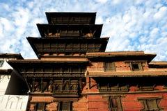 Edificio en Nepal Imagenes de archivo