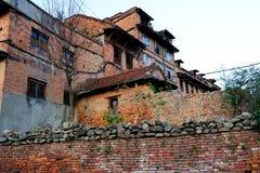 Edificio en Nepal Fotografía de archivo libre de regalías