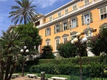 Edificio en Niza Imagen de archivo libre de regalías