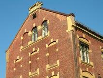 Edificio en Noruega foto de archivo libre de regalías