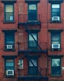 Edificio en Nueva York Foto de archivo