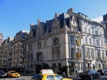 Edificio en Nueva York Fotos de archivo libres de regalías