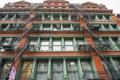 Edificio en Nueva York imágenes de archivo libres de regalías