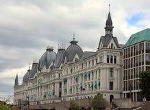 Edificio en Oslo céntrica Imágenes de archivo libres de regalías