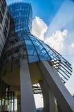Edificio en Praga Fotografía de archivo libre de regalías