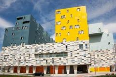 Edificio en Salburua, Vitoria Fotografía de archivo libre de regalías