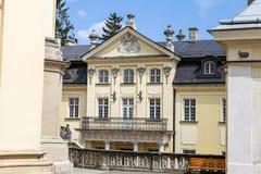 Edificio en St Georges Cathedral, Lviv, Ucrania fotos de archivo libres de regalías