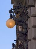 Edificio en Turín con Dragon Decoration Fotografía de archivo