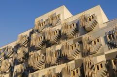 Edificio escocés del parlamento, Edimburgo, Escocia imagenes de archivo