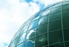 Edificio esférico Imagen de archivo
