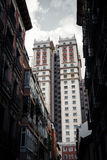 Edificio España art deco drapacz chmur w Placu De españa Obraz Stock