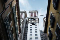 Edificio España art deco skyscraper in Plaza de España Royalty Free Stock Photo