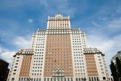 Edificio Espana - Μαδρίτη - Ισπανία Στοκ Εικόνες