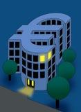 Edificio euro de la moneda fotografía de archivo