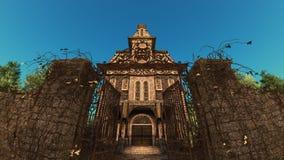 Edificio European-style Imagen de archivo libre de regalías