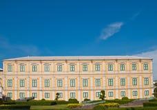 Edificio europeo del estilo Imagen de archivo libre de regalías