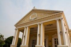 Edificio europeo del estilo en Explosión-PA-en el palacio Fotos de archivo